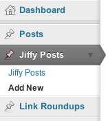 Add new Jiffy Post